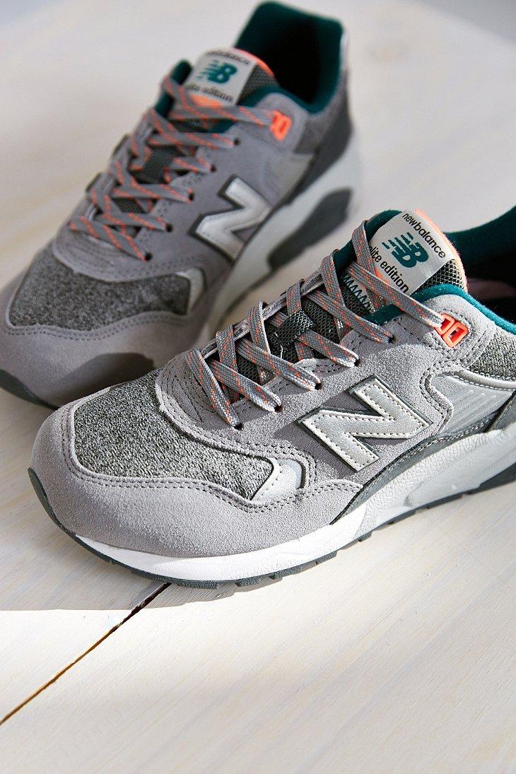 huge selection of f9394 66265 New Balance Gray 580 Tomboy Running Sneaker