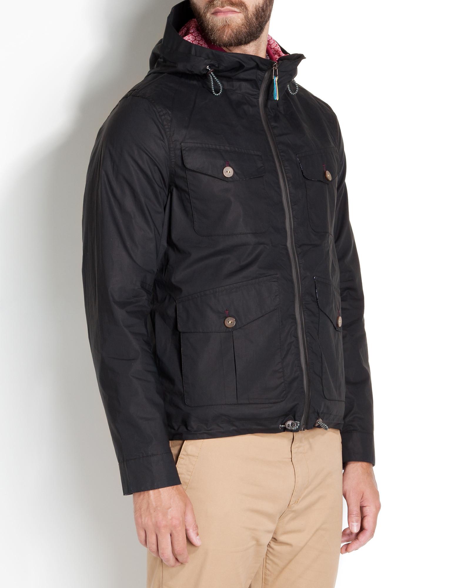 Ted Baker Lightweight Jacket in Black for Men
