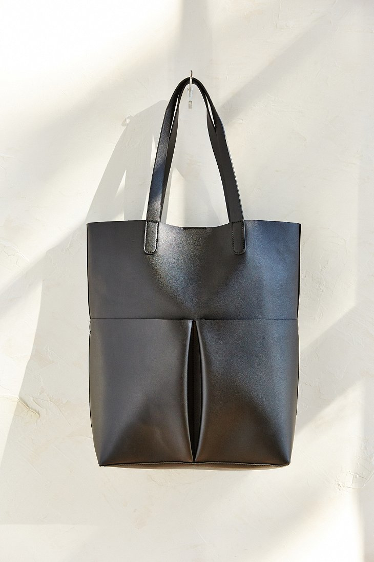 Lyst Silence Noise Oversized Tote Bag In Black