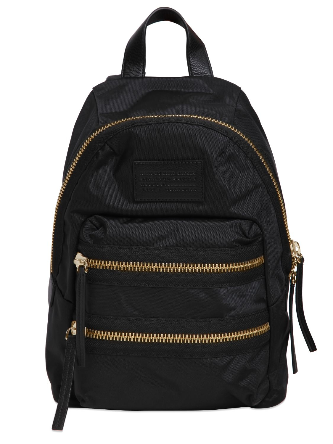 marc by marc jacobs mini packrat nylon backpack in black. Black Bedroom Furniture Sets. Home Design Ideas