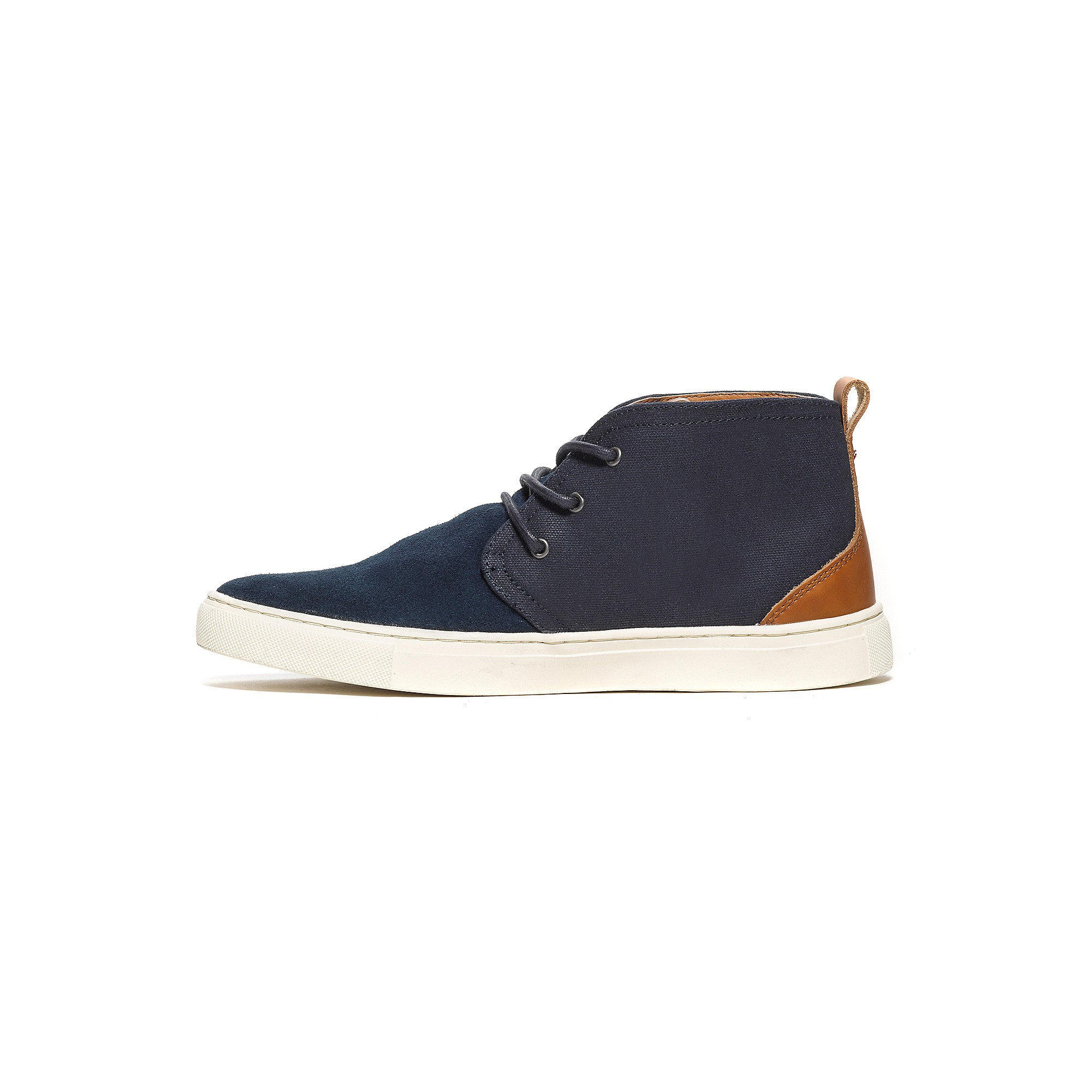 tommy hilfiger desert boot sneaker in blue for men navy. Black Bedroom Furniture Sets. Home Design Ideas