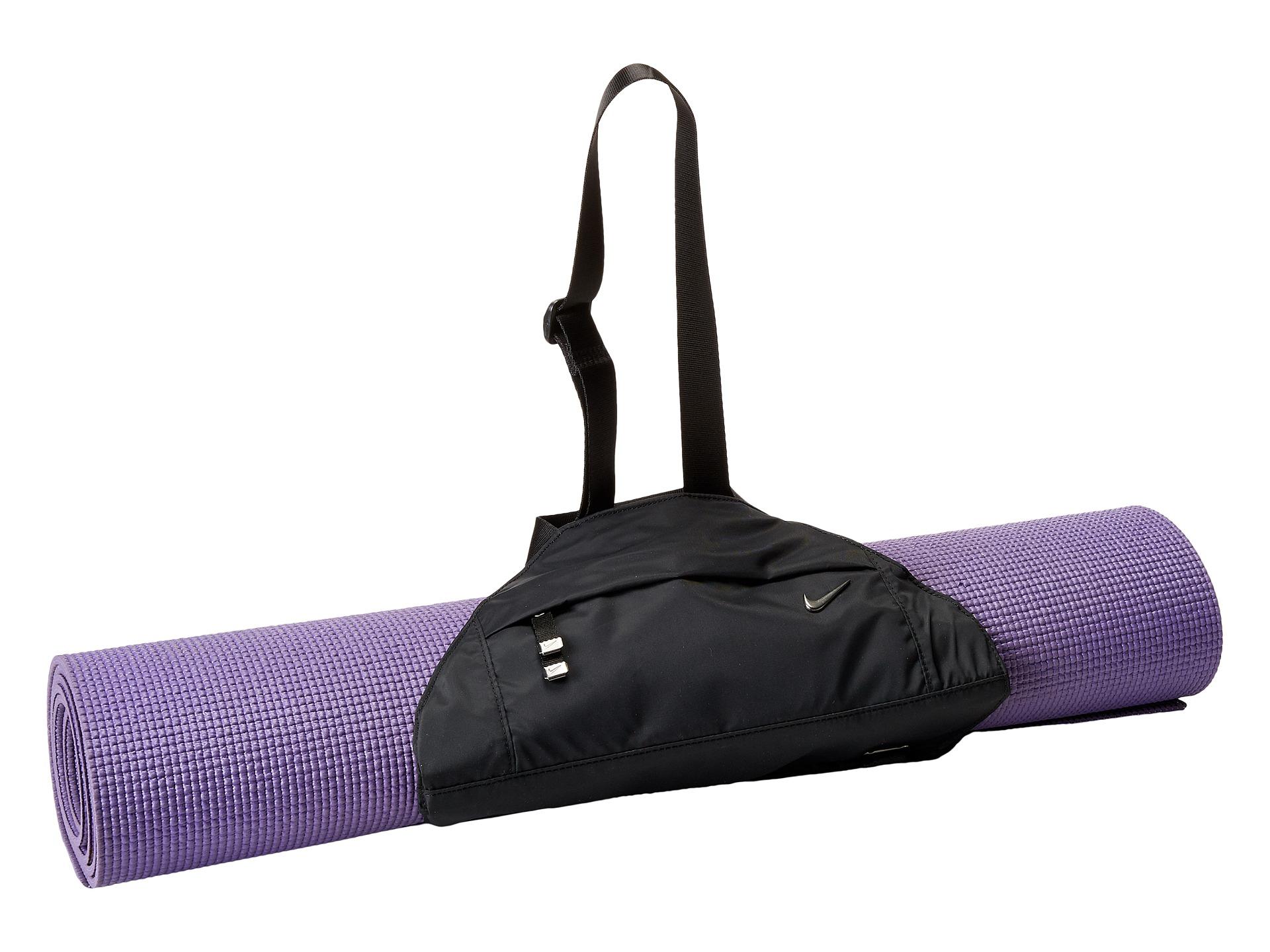 07e134103e Lyst - Nike Victory Yoga Sling in Black