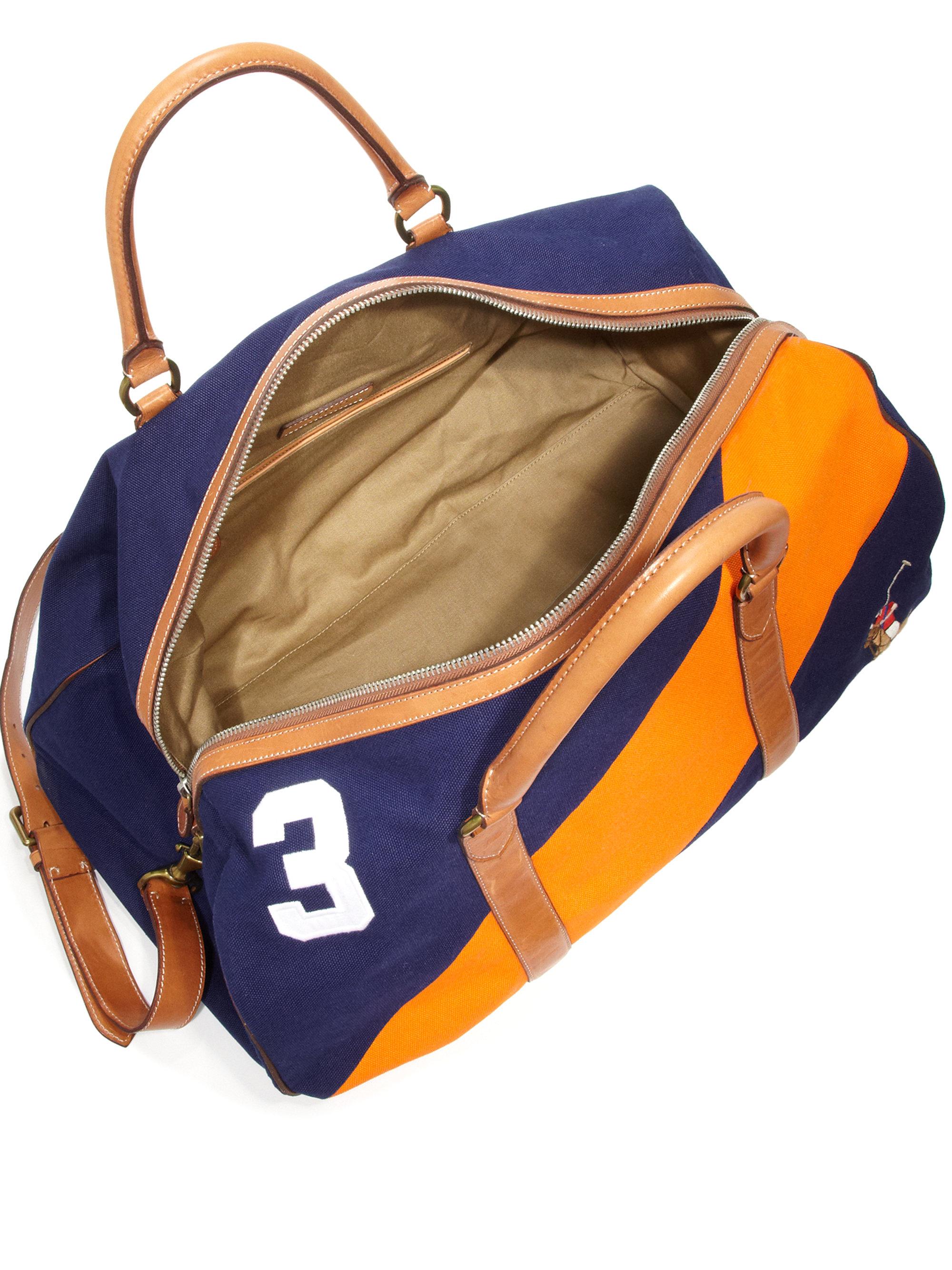 256ca5b95d ... low cost lyst polo ralph lauren regatta duffel bag in yellow for men  3f74c 75c6b ...