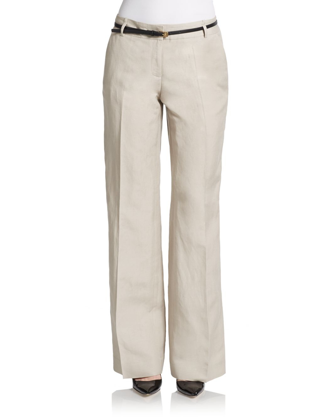 Simple I Recently Went On A Mission To Buy A New Pair Of Khakis  Slightly Closer To The Leg  That Tip Is Applicable For Women Of Every Size As With Most Pant Styles, Tall, Slender Women Have No Problem Wearing Wide Leg Pants There Are A
