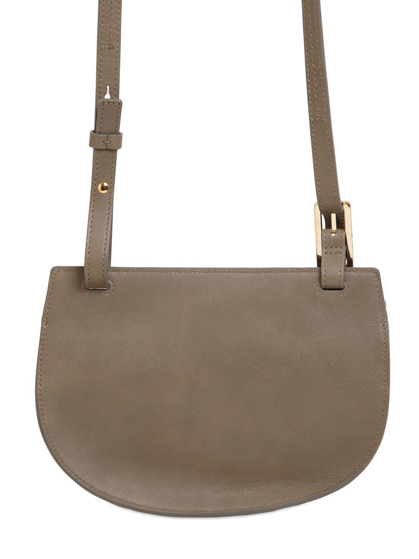 celine ecru leather handbag hobo
