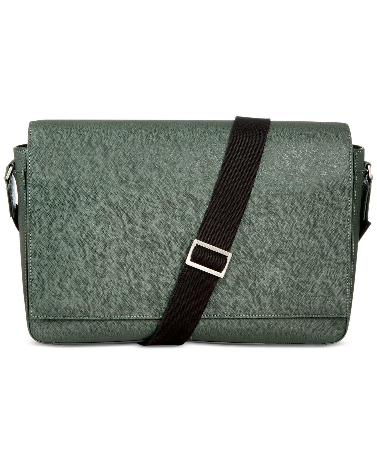 aa10ed289c Lyst - Jack Spade Barrow Urban Messenger Bag in Green for Men