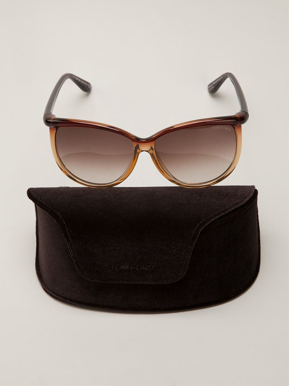 Tom Ford Josephine Sunglasses in Brown