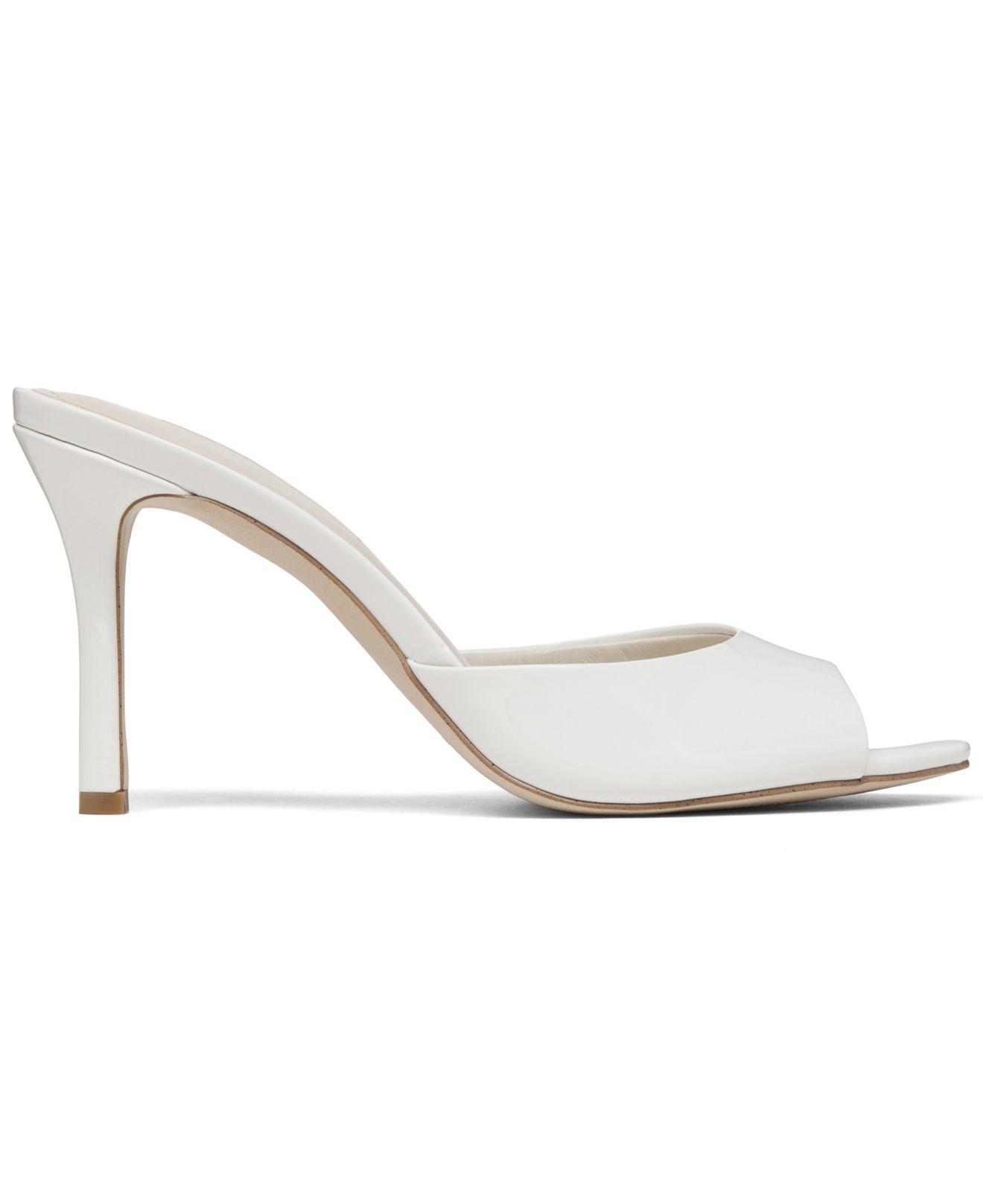 50dd459e143 BCBGeneration White Disco Slide Dress Sandals