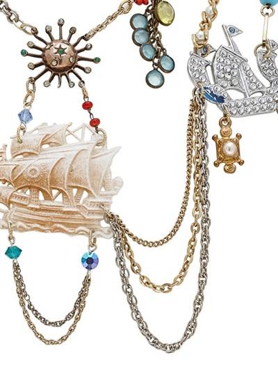 Maria Zureta Marine Necklace