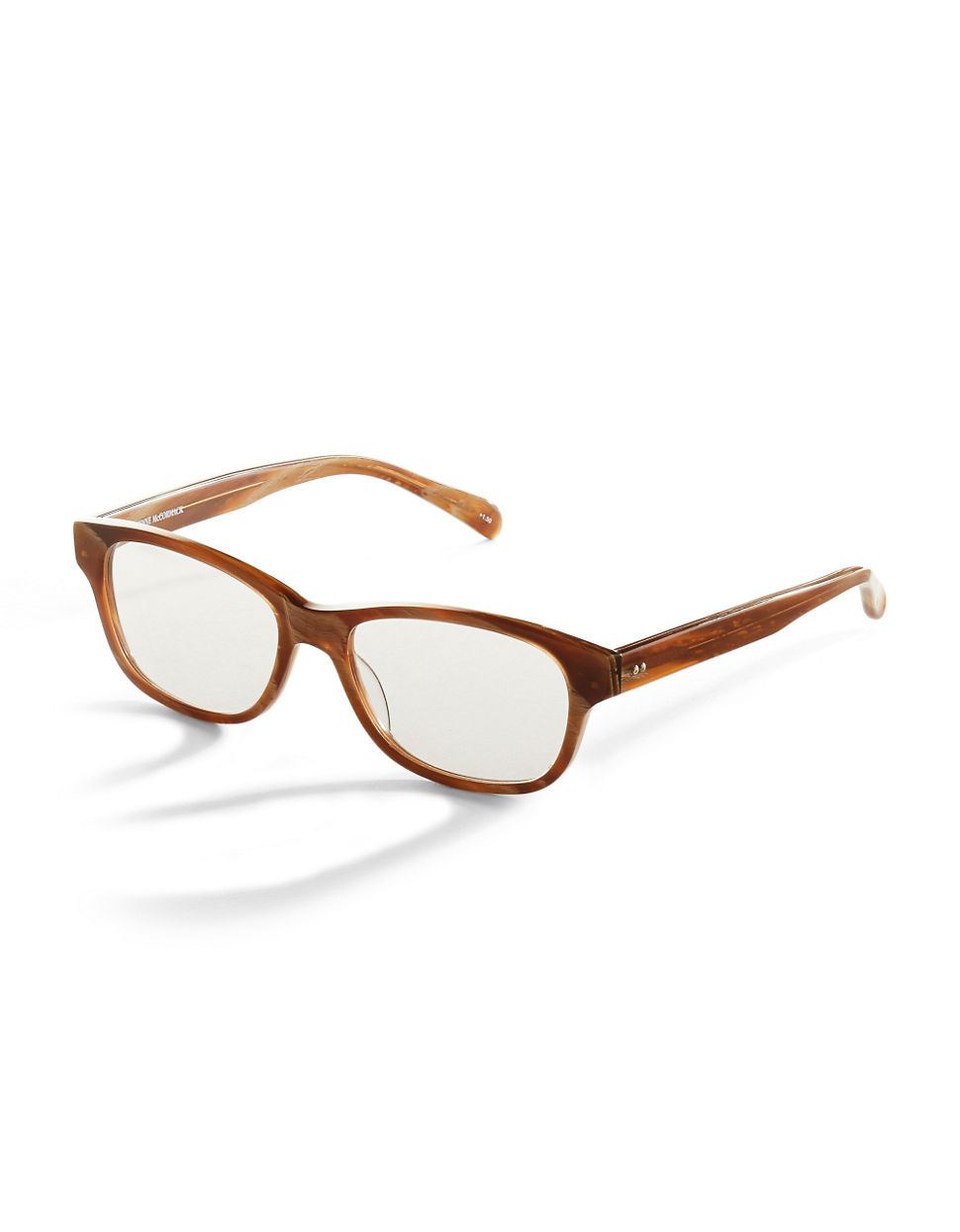 corinne mccormack zooey reading glasses in brown lyst