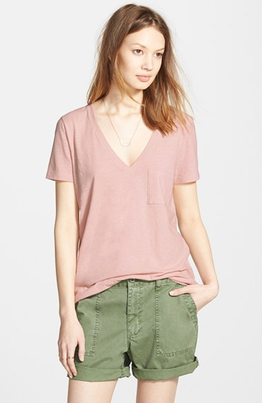 Free shipping and returns on Madewell V-Neck Pocket Tee at xflavismo.ga This easy cotton tee will have you thinking of the weekend with its breezy fit and classic stripes.4/5(77).