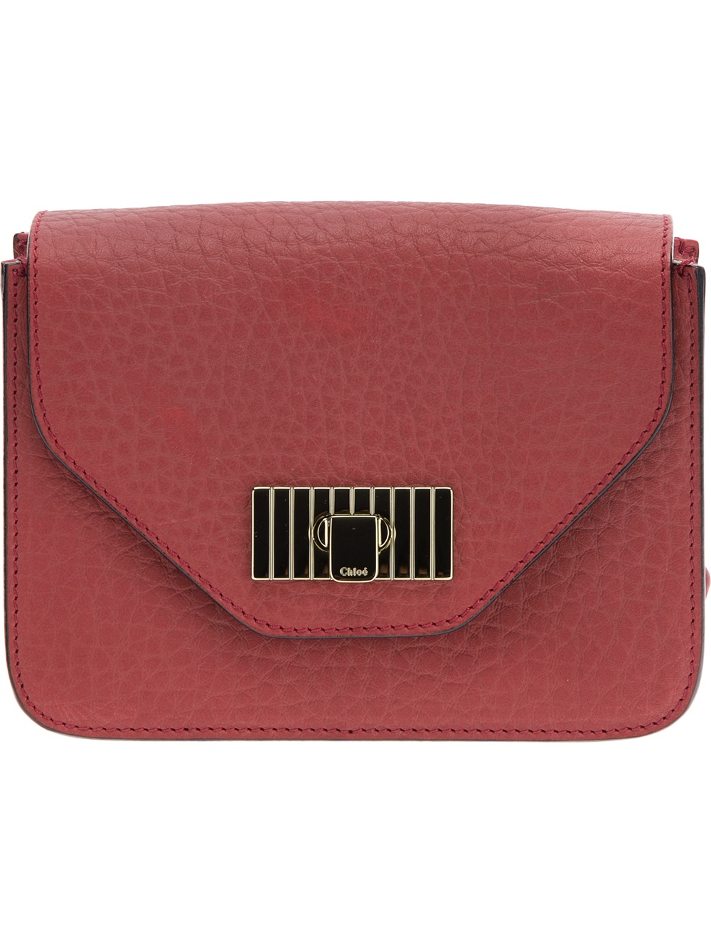 Chlo¨¦ Mini \u0026#39;Sally\u0026#39; Shoulder Bag in Red | Lyst