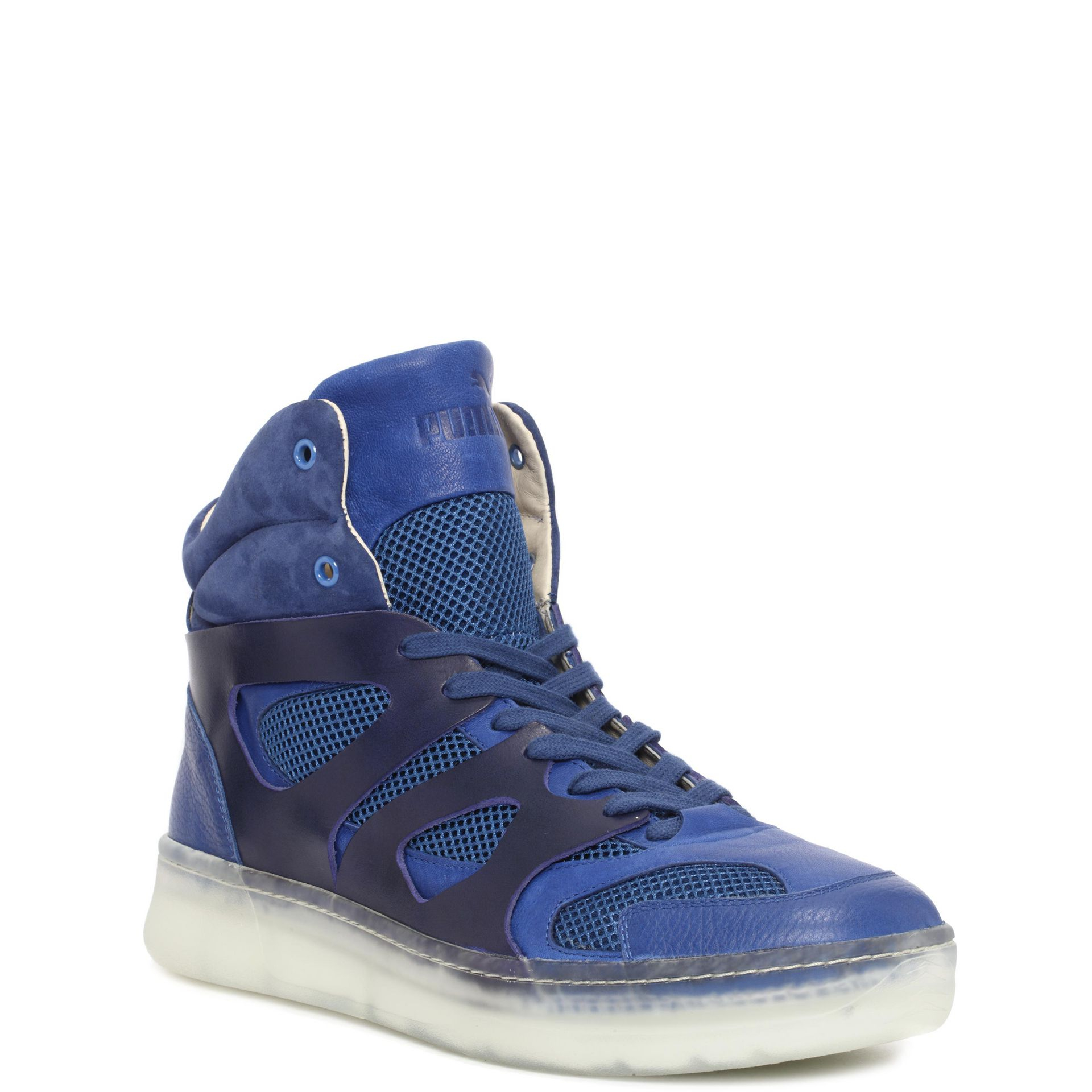 Lyst Mcq Move Mid High Tops In Blue For Men