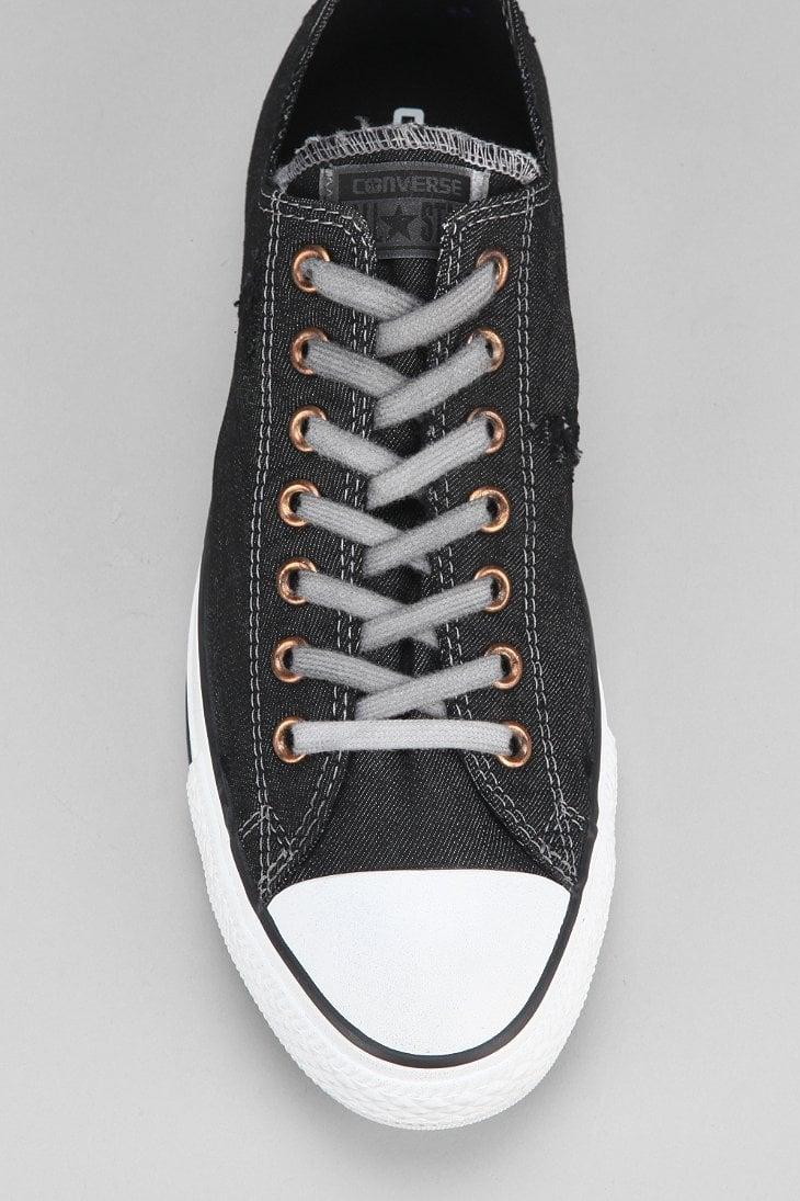bcada8708b69 Lyst - Converse Chuck Taylor All Star Denim Lowtop Mens Sneaker in ...