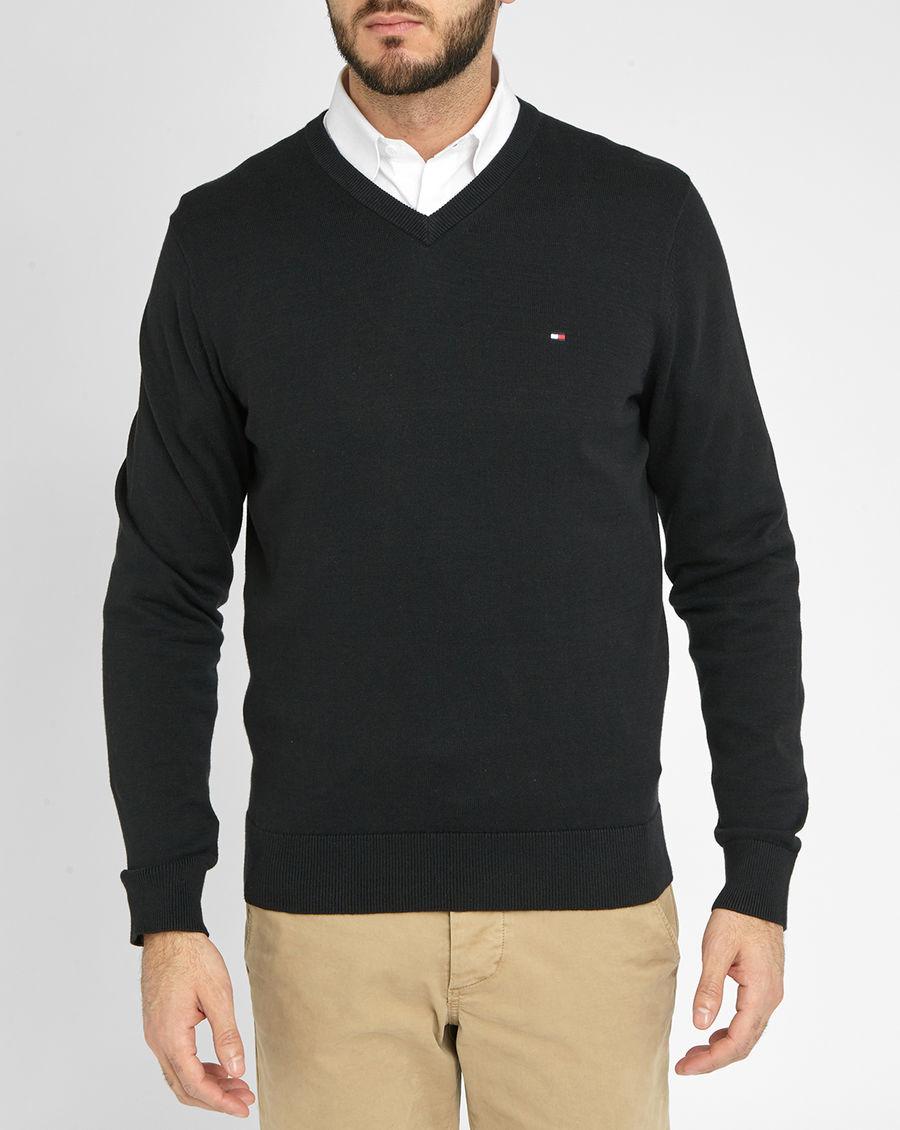 tommy hilfiger men 39 s cotton sweater cashmere sweater england. Black Bedroom Furniture Sets. Home Design Ideas