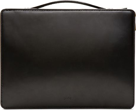 Mens Leather Document Case Leather Document Case in