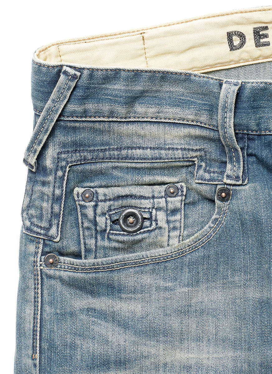 Denham 'skin' Slim Fit Jeans in Blue for Men