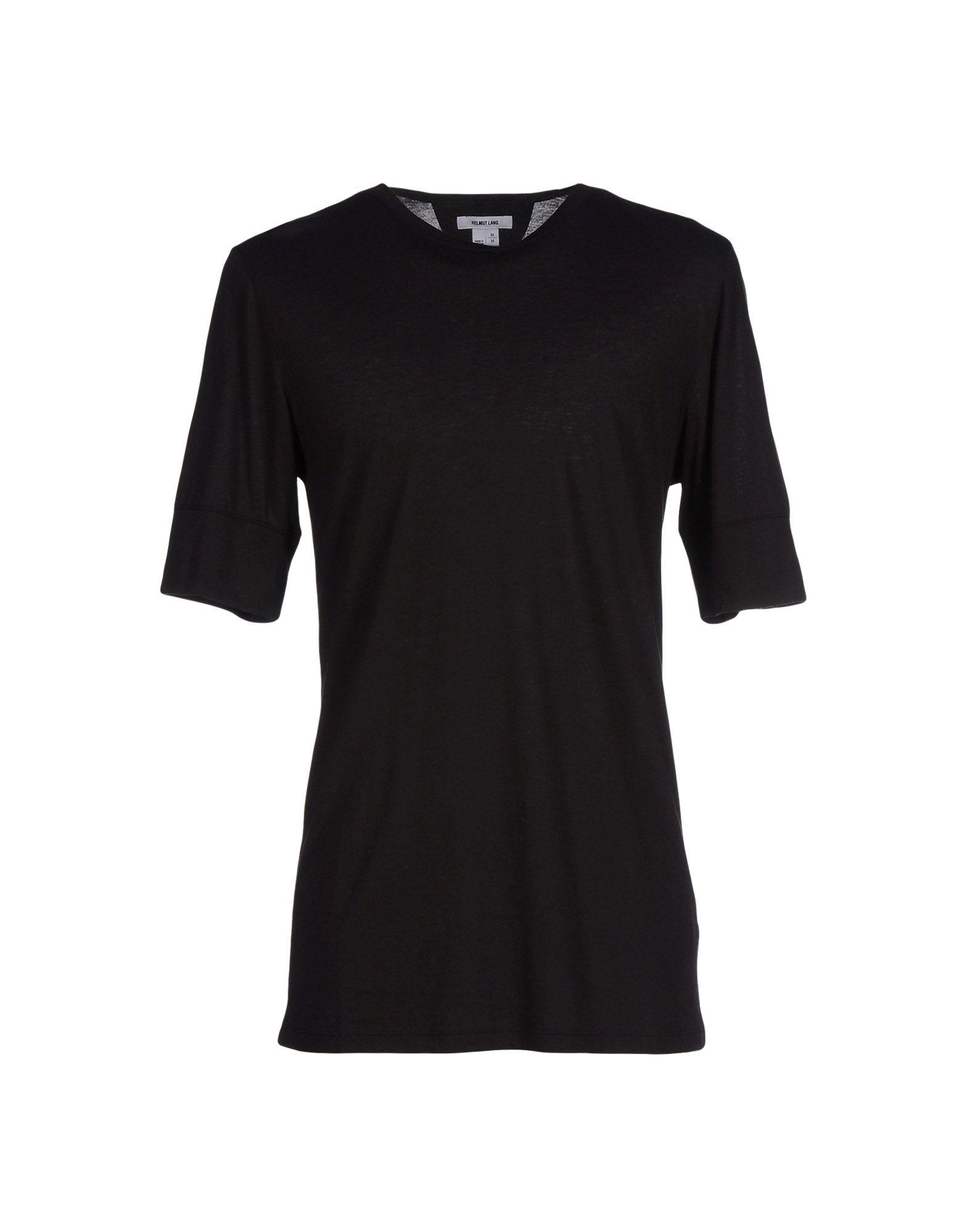 lyst helmut lang t shirt in black for men. Black Bedroom Furniture Sets. Home Design Ideas