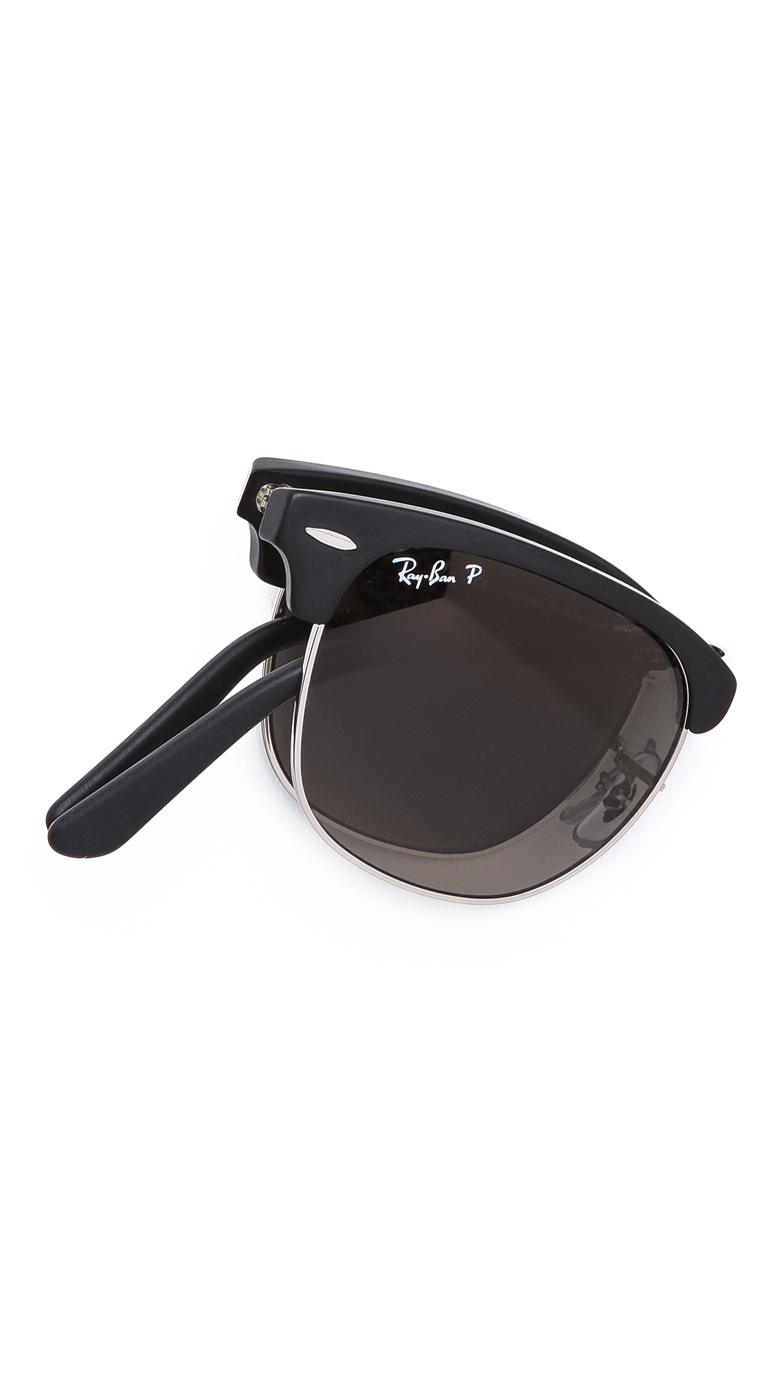 ray ban foldable clubmaster sunglasses  gallery. previously sold at: east dane · men's ray ban clubmaster