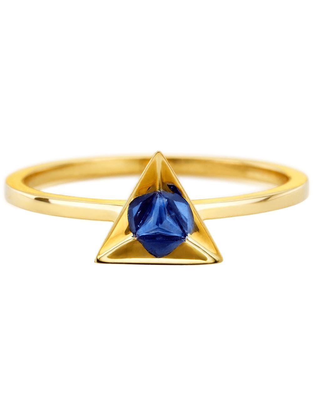 Ruifier 'stella' Sapphire Ring in Metallic