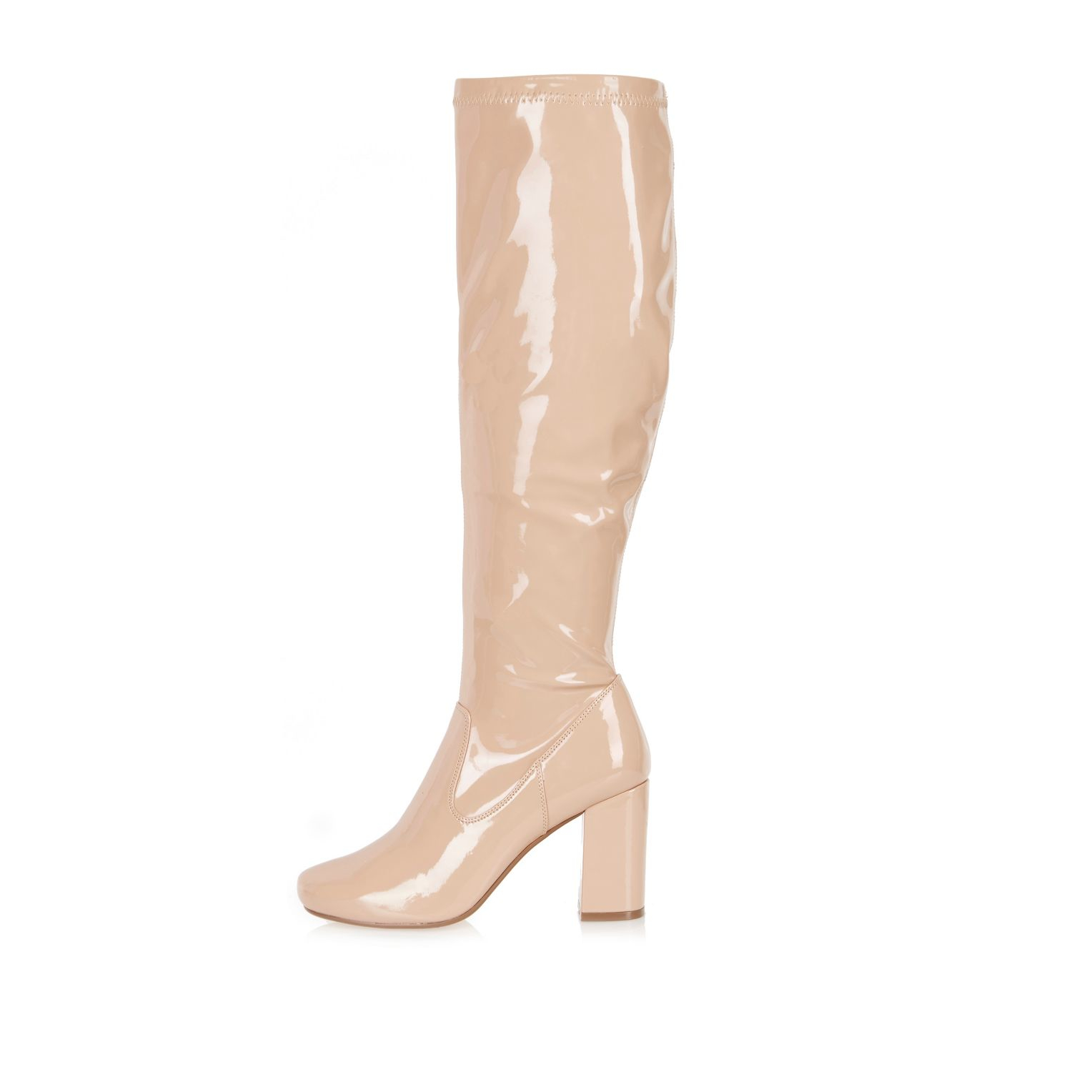 Light Pink Patent Heels