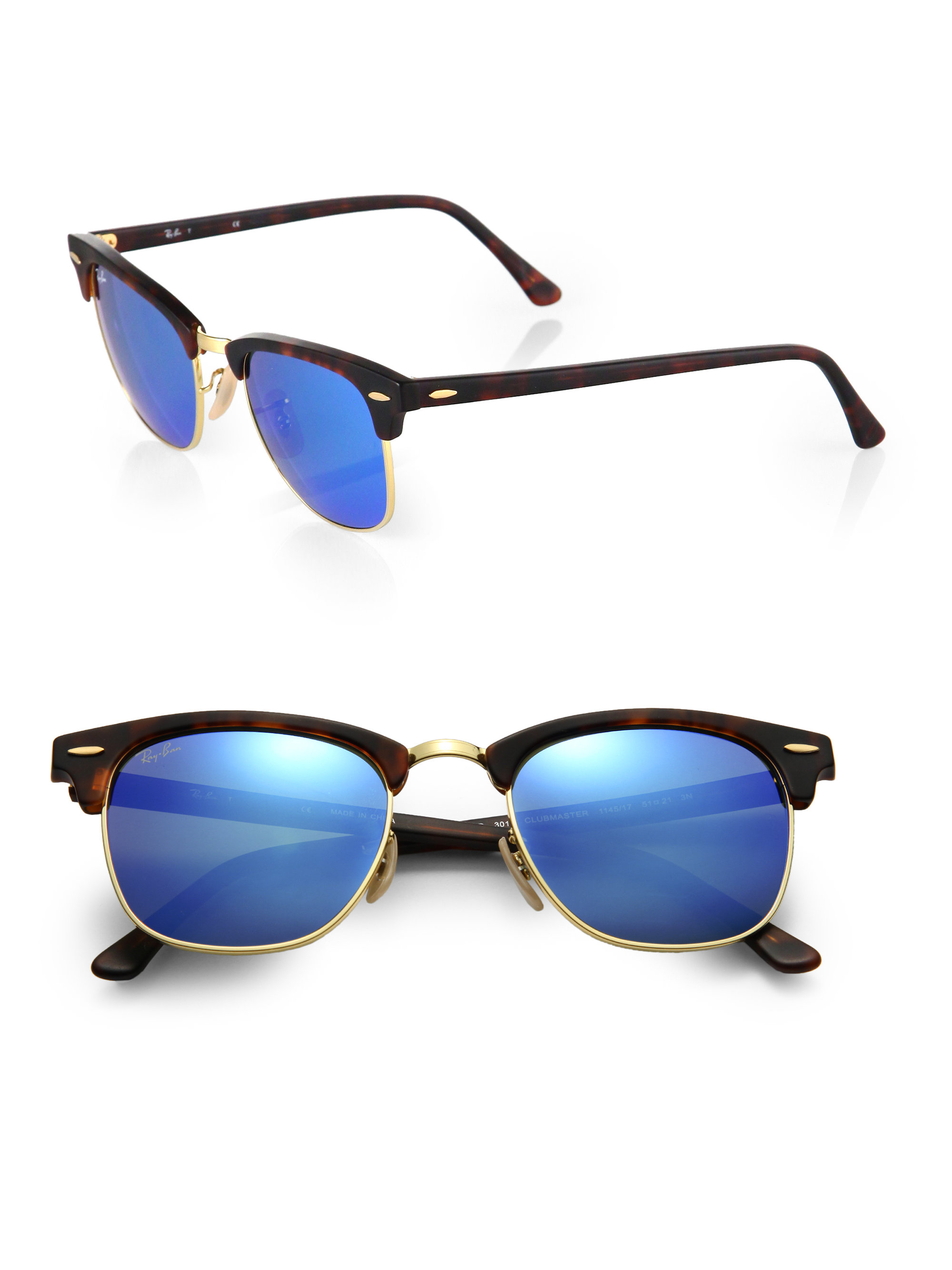 87a749f422e473 ... lenses tortoise sun 12a83 02d2f  best gallery. previously sold at saks  fifth avenue mens mirrored sunglasses mens ray ban clubmaster