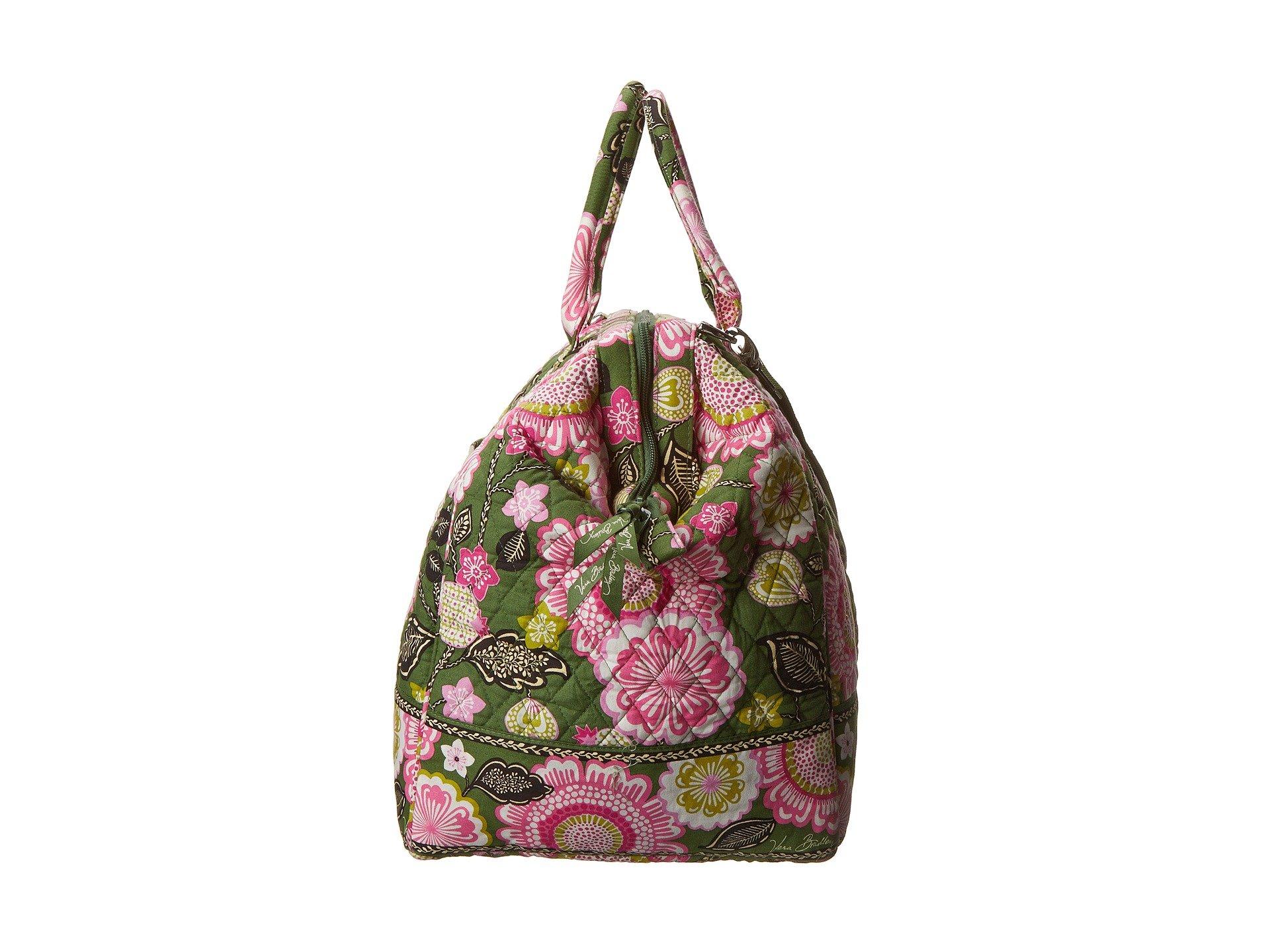 Lyst - Vera Bradley Luggage Frame Travel Bag in Green