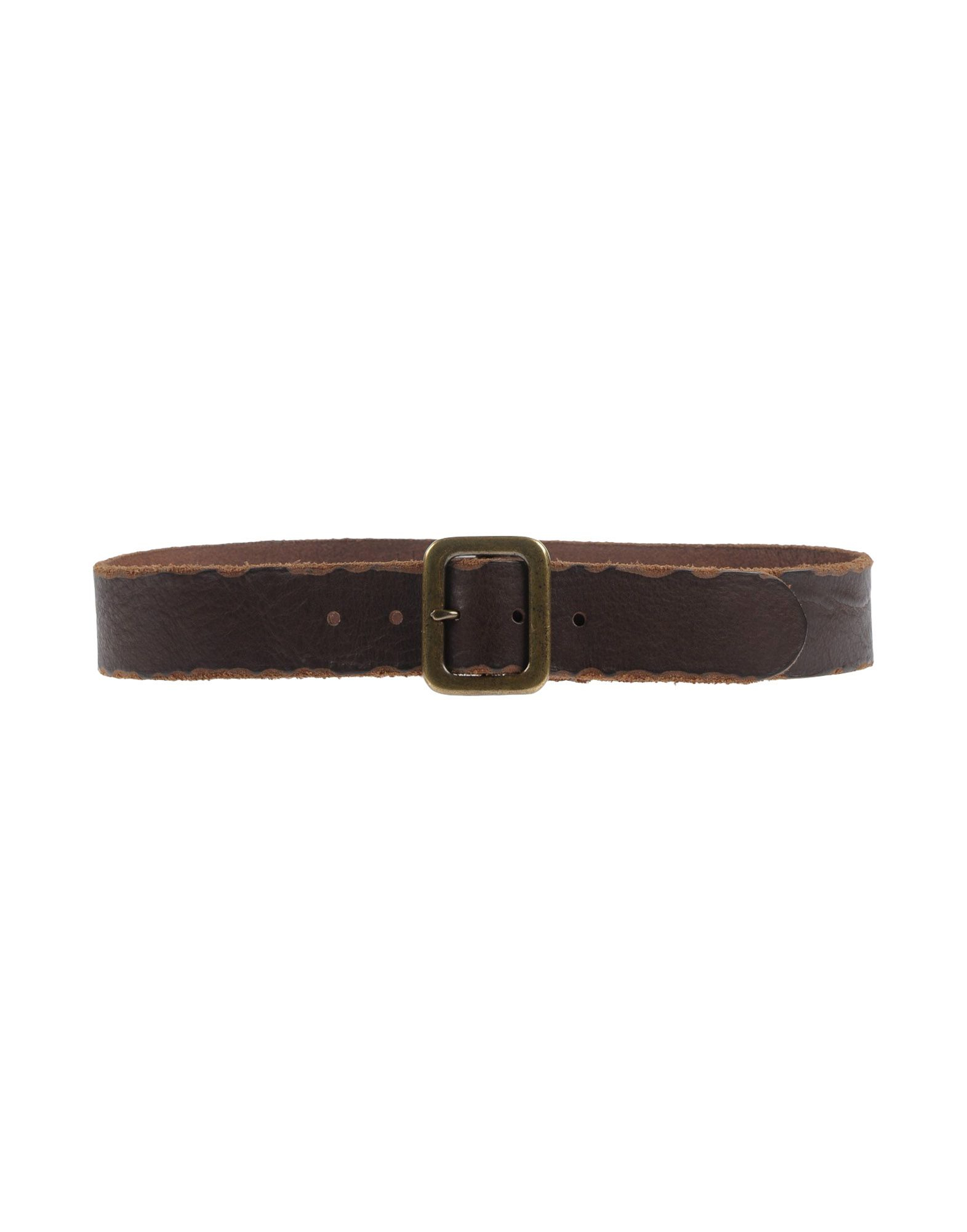 will leather goods belt in brown lyst