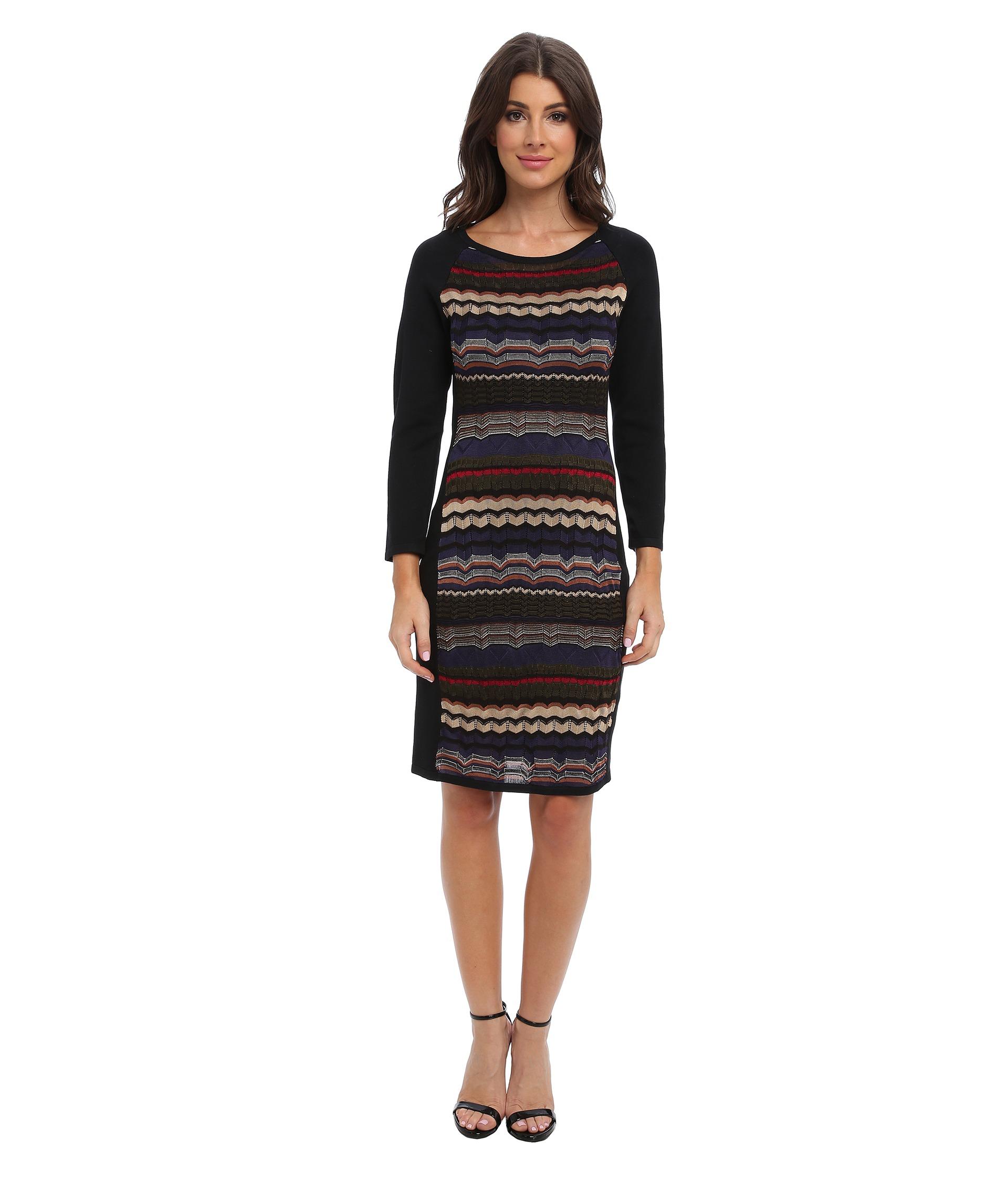 Laundry by shelli segal Multi Stitch Sweater Dress in ...