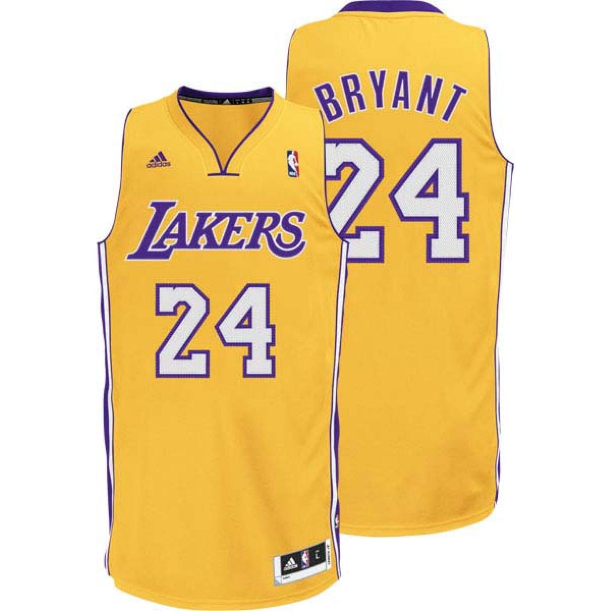 Adidas Toddlers Kobe Bryant Los Angeles Lakers Replica