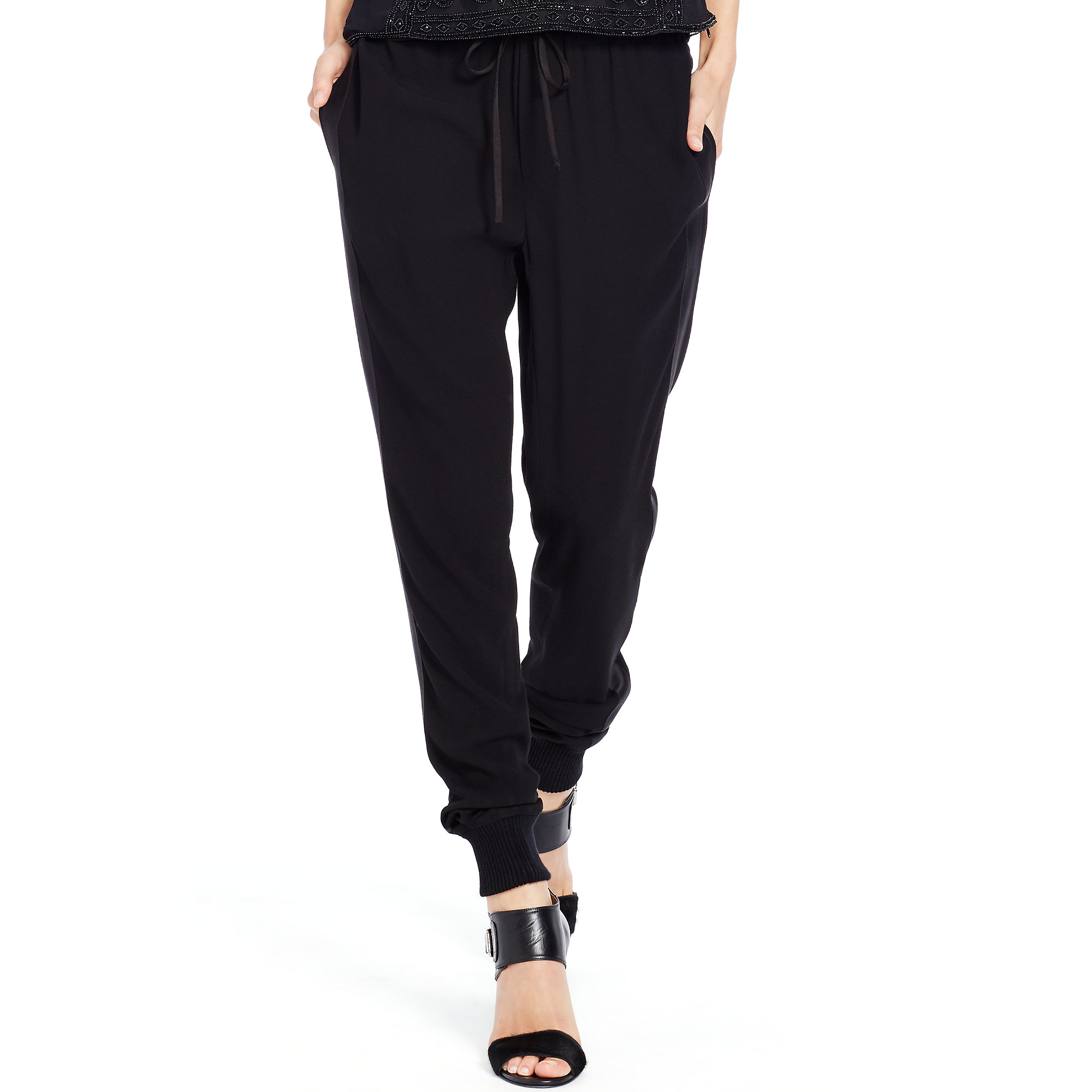4bf0c5bee19 Lyst - Polo Ralph Lauren Tuxedo Jogger Pant in Black