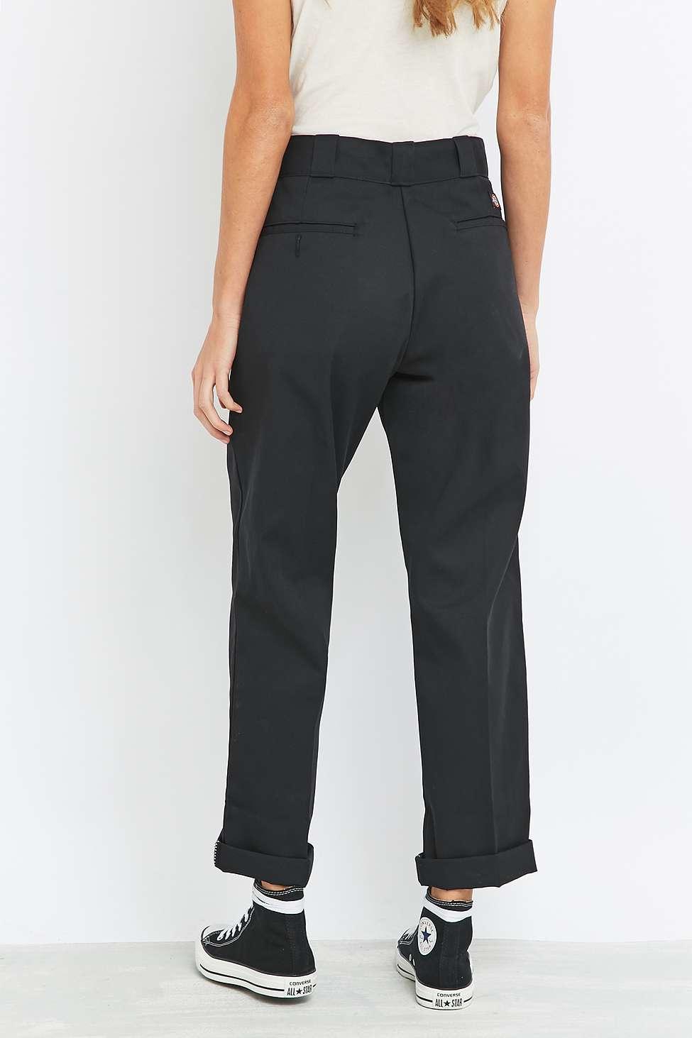 Dickies Original 874 Black Work Trousers Lyst