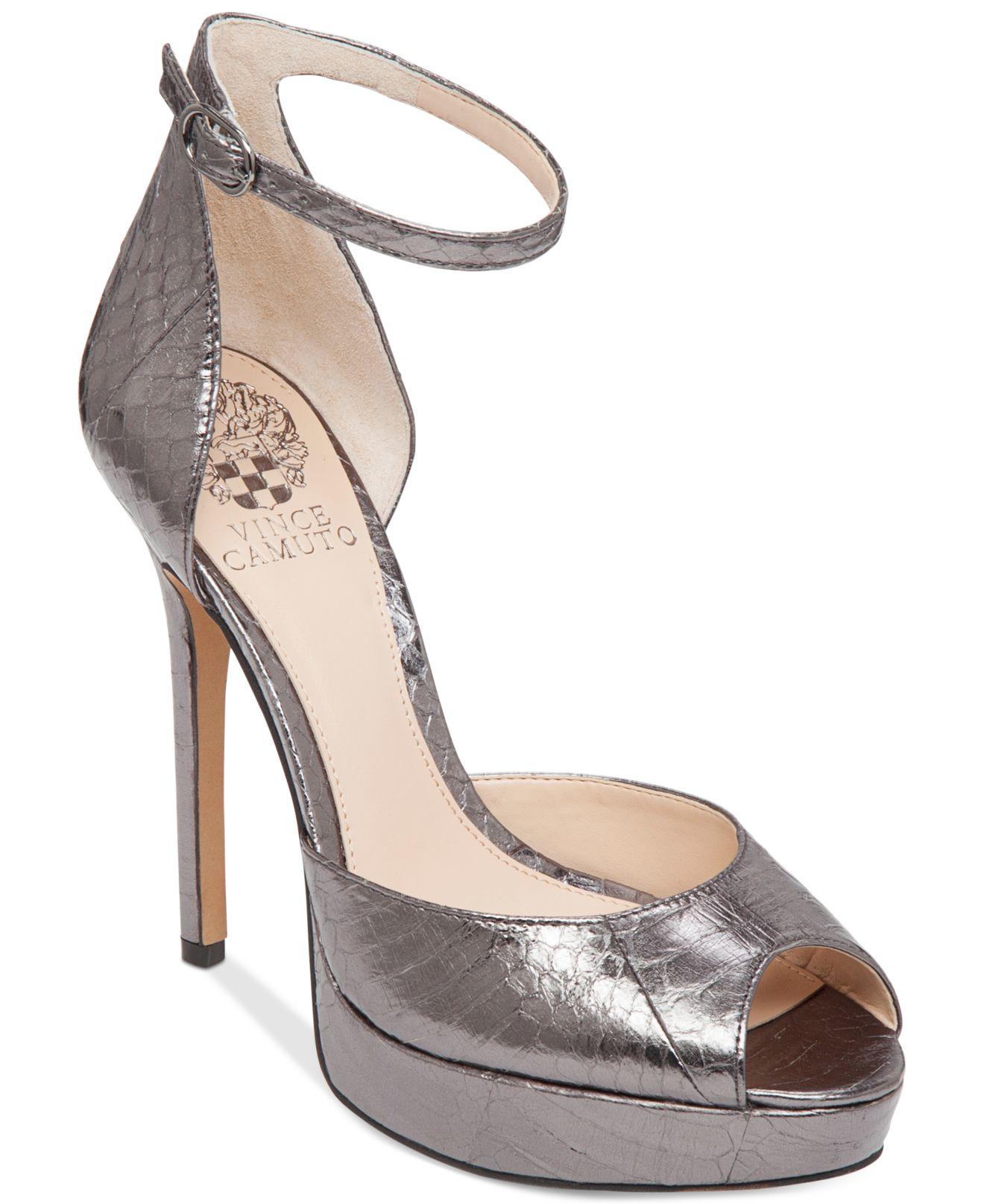 Vince Camuto Lillith Ankle Strap Platform Sandals In