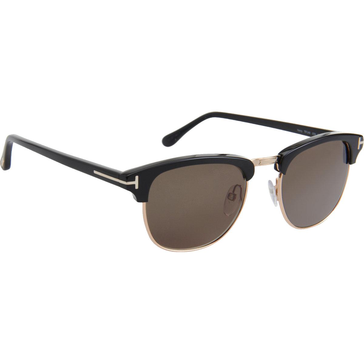 lyst tom ford henry sunglasses in black for men. Black Bedroom Furniture Sets. Home Design Ideas