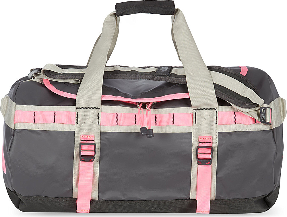 8418e53ca209 The North Face Small Base Camp Duffel Ether Greygem Pink in Gray for ...