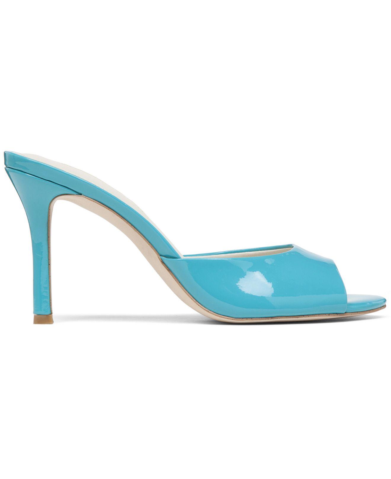 aa63c550861 BCBGeneration Blue Disco Slide Dress Sandals