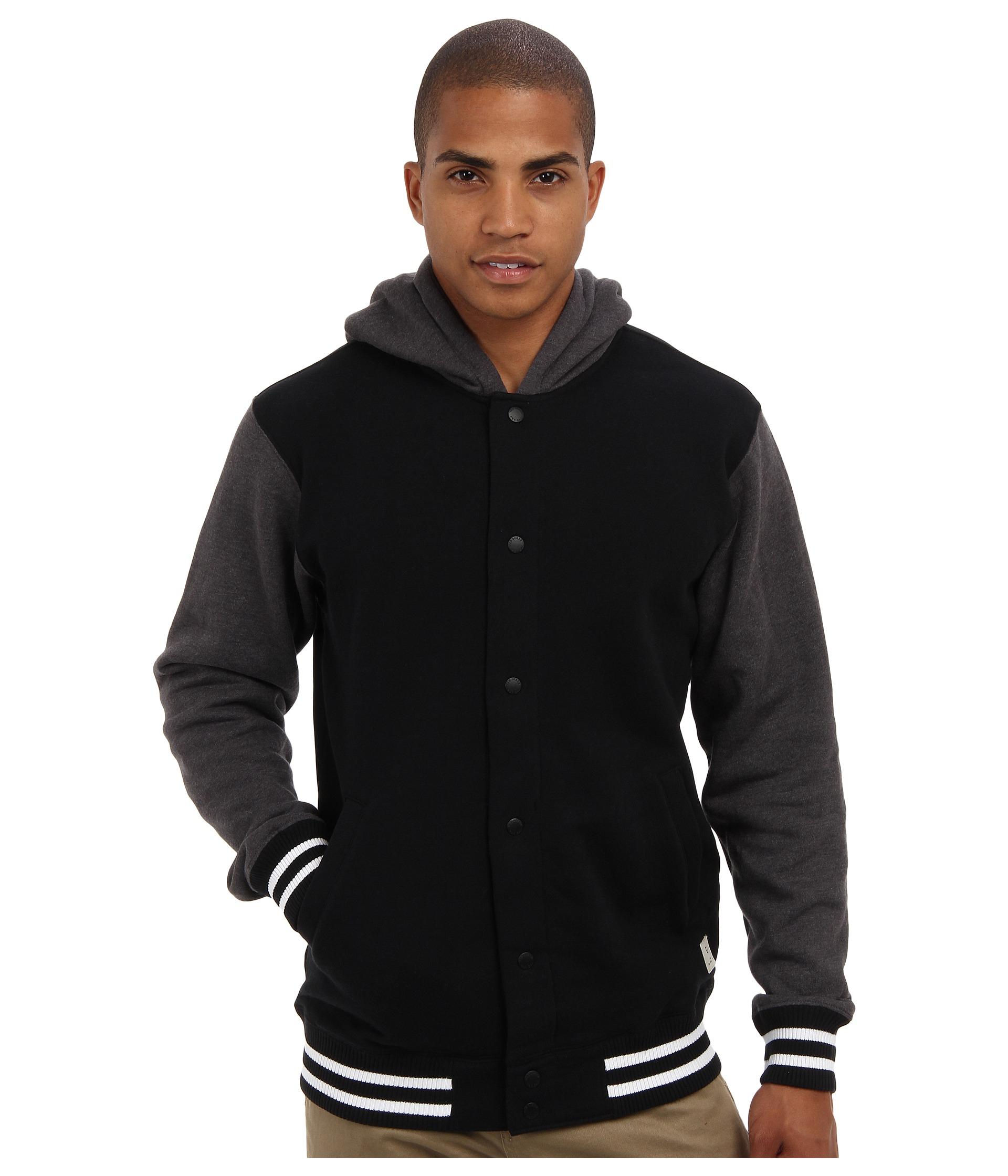 379128f2cf Lyst - Vans University Hoodie in Black for Men