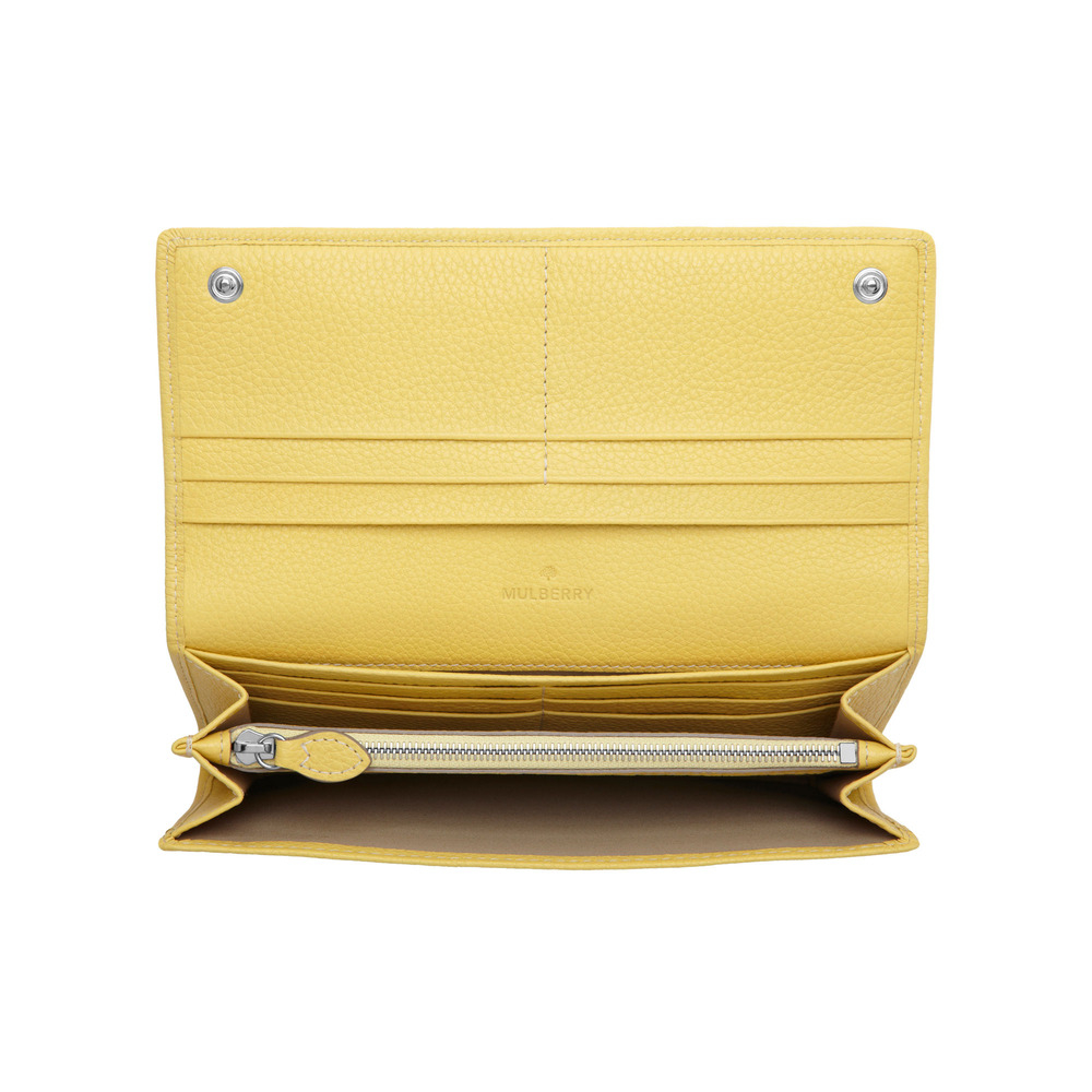 61dfeaa4de2 Mulberry Tree Continental Wallet in Yellow - Lyst