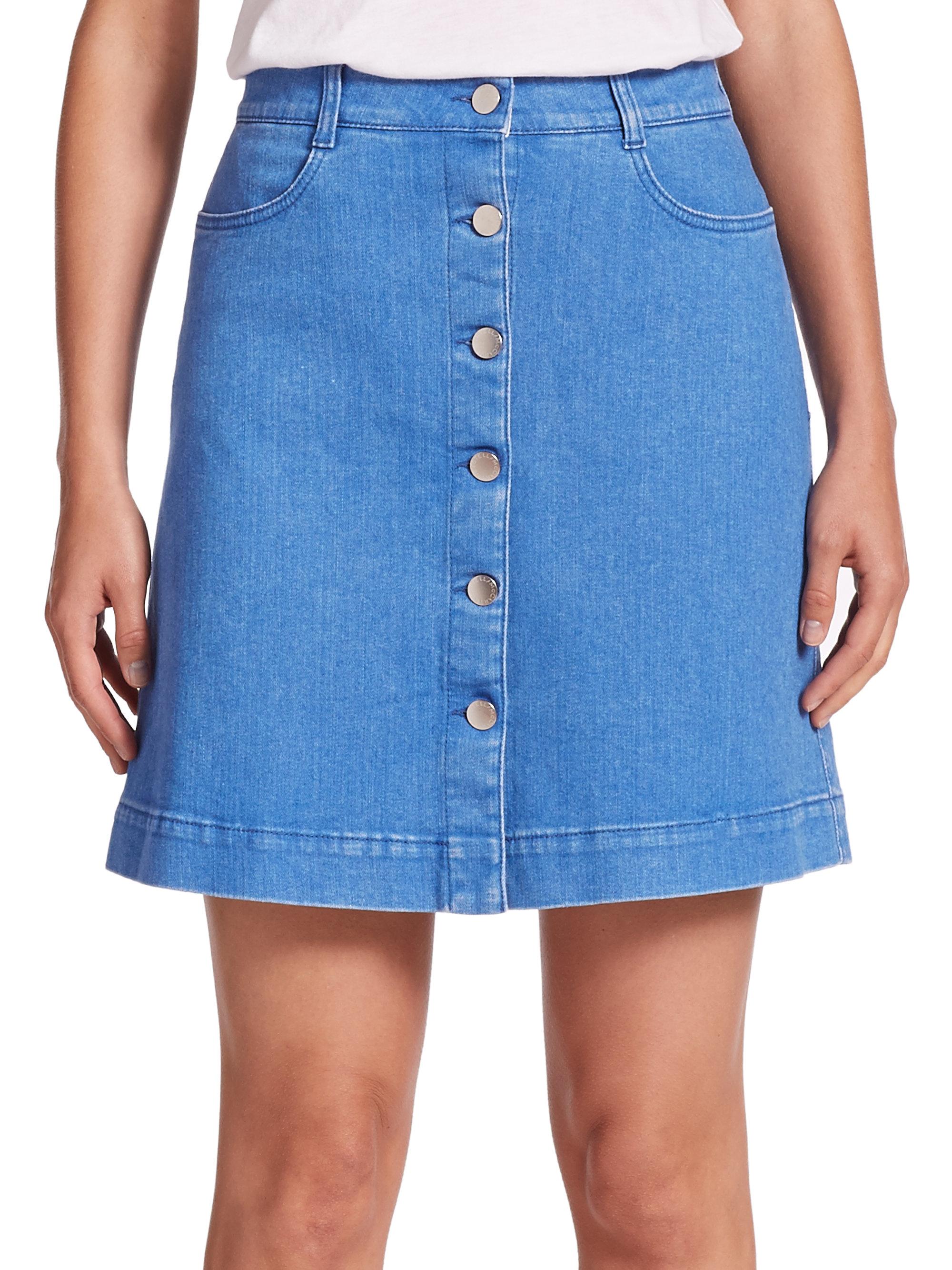 1f51e0827 Gap Button Down Denim Skirt