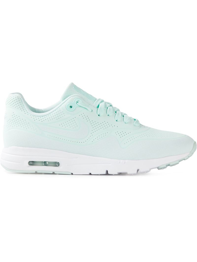 nike 39 air max 1 ultra moire 39 trainers in blue lyst. Black Bedroom Furniture Sets. Home Design Ideas