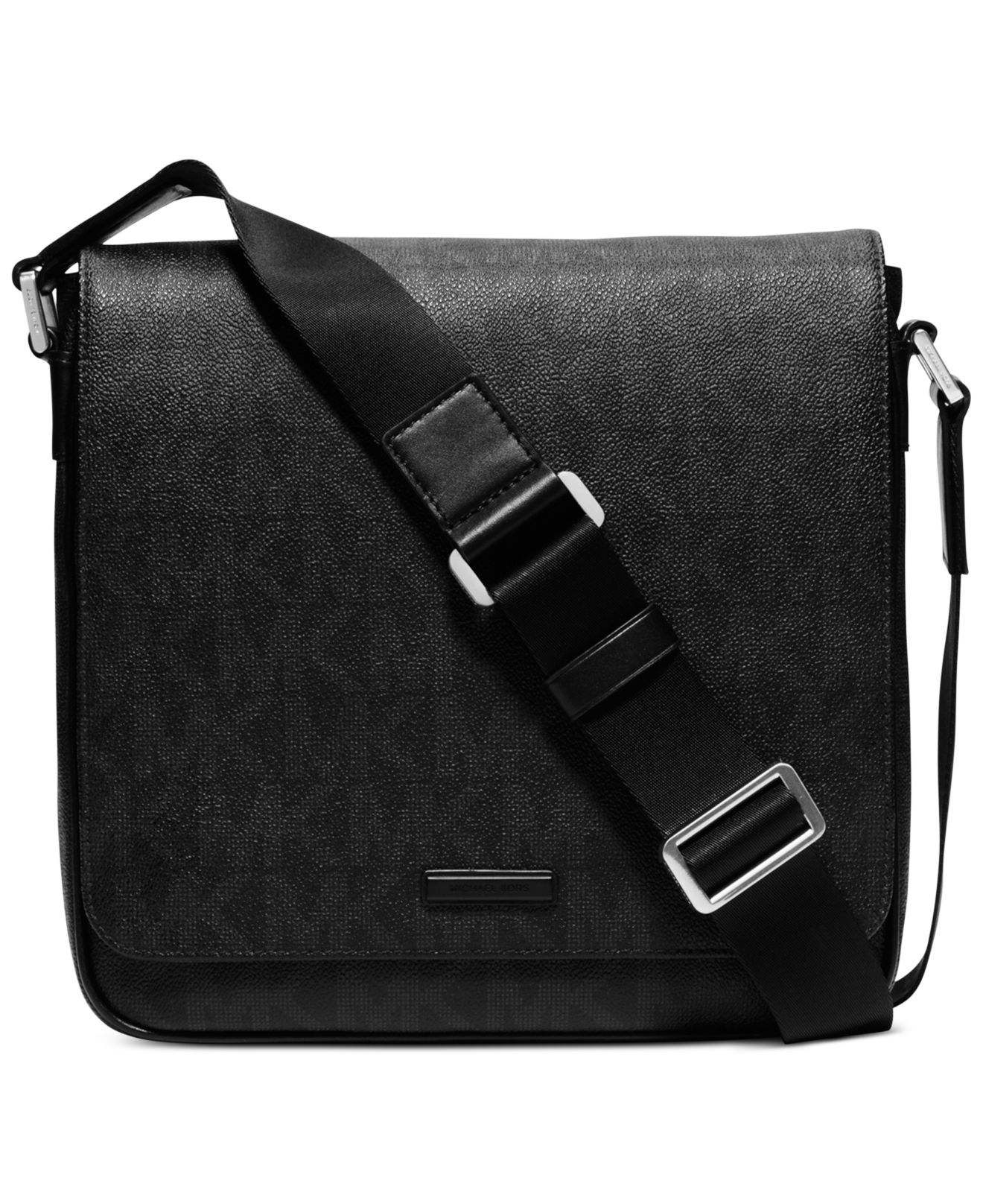 c9b18355a074 ... Black for Men Lyst Michael kors Jet Set Shadow Medium Flap Messenger  Bag in Bla ...