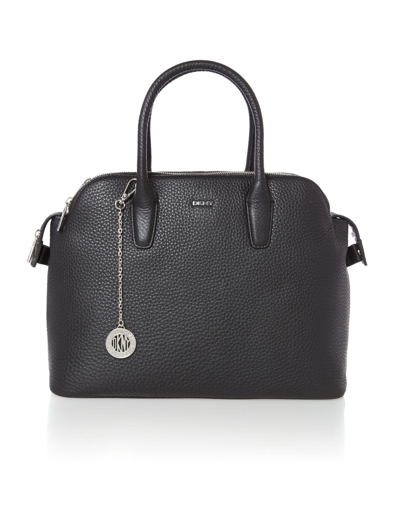 dkny tribeca black tote bag in black lyst