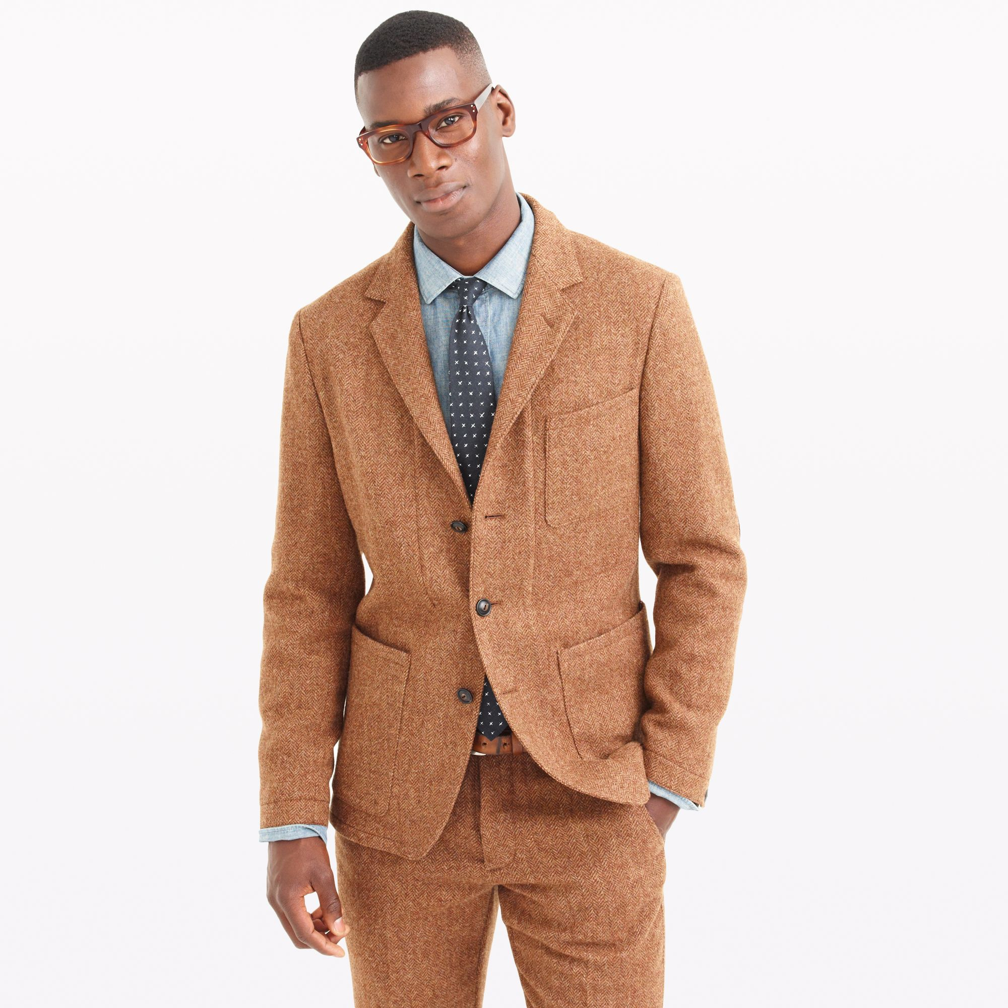 jcrew wallace amp barnes suit jacket in herringbone english