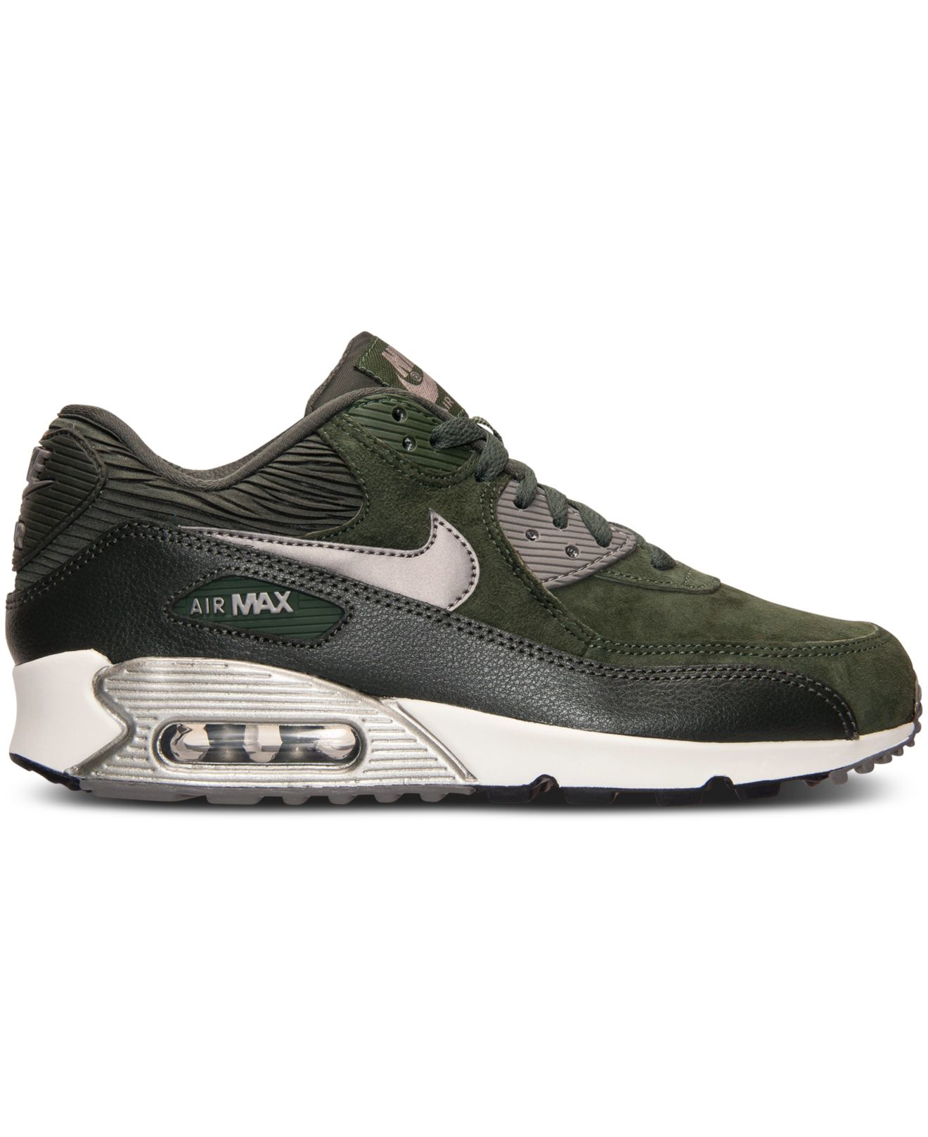 Women's Air Max 90 Leather Running Sneakers From Finish Line