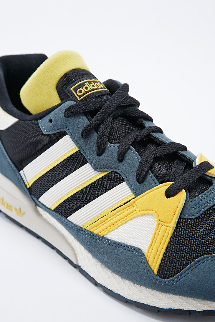 29d174bb7a4c Adidas Zx 710 Collegiate Trainers in Aluminum Grey in Gray for Men ...