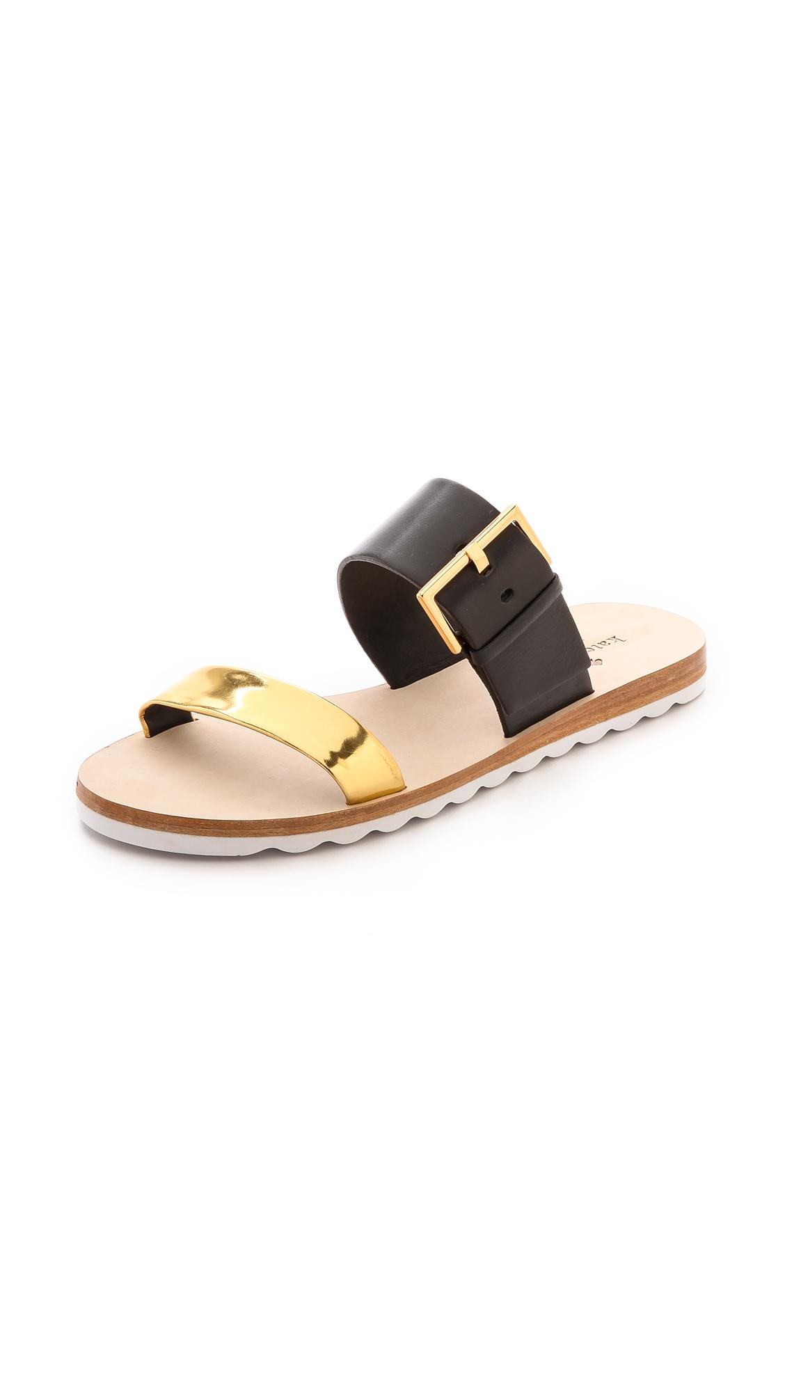 Kate Spade Black Flat Shoes