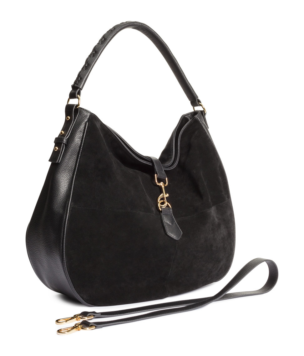 Shop black suede hobo bag from Bottega Veneta, Gucci, Jimmy Choo and from Barneys New York, Rue La La, TheRealReal and many more. Find thousands of new high fashion items in one place.