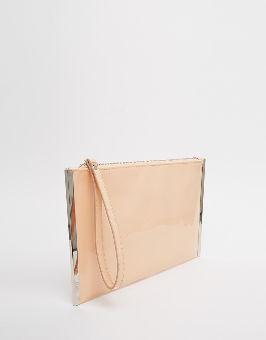 Patent Clutch Bag Madly Indian