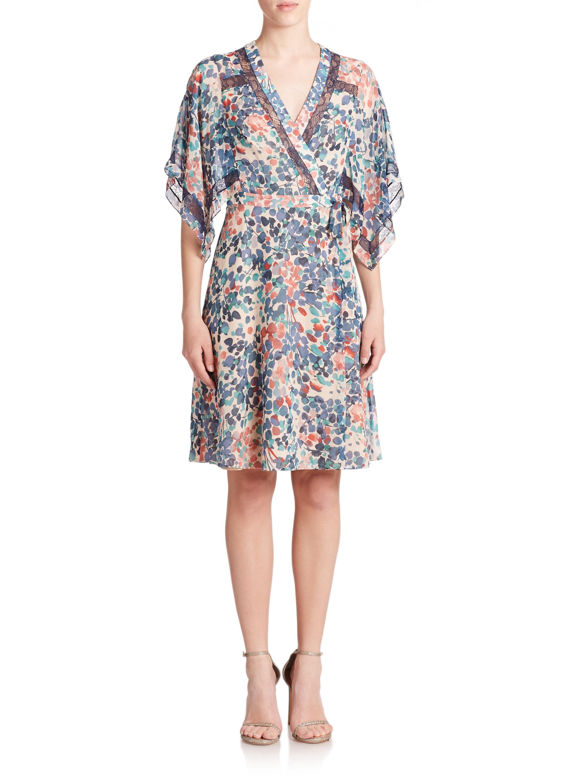 7bf8663863dd BCBGMAXAZRIA Krystie Kimono Dress - Lyst