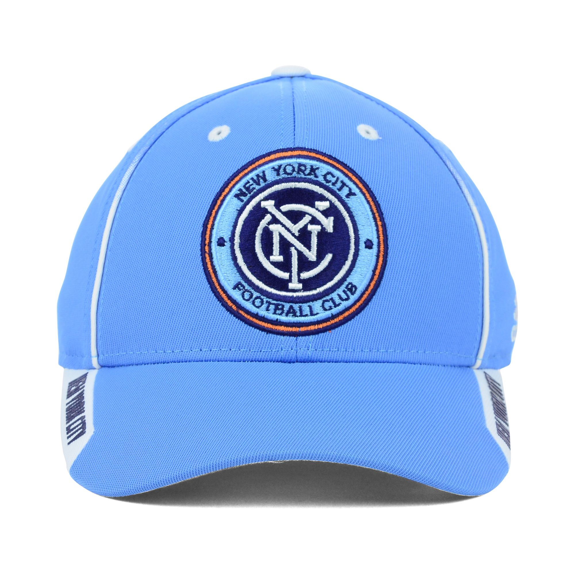 f584d1cb ... where to buy lyst adidas new york city fc mls mid fielder cap in blue  for